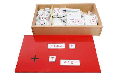 Addition Equations & Sums Box